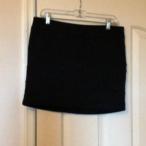 Hot little black skirt